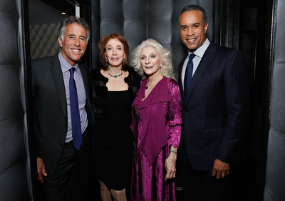 Christopher Kennedy Lawford, Elizabeth Kabler, Judy Collins and Maurice DuBois attend the New York Center for Living Annual Gala at Espace on May 14, 2014 in New York City. (Photo by Cindy Ord/ Getty Images) (PRNewsFoto/New York Center for Living)