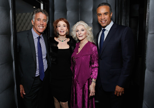 Christopher Kennedy Lawford, Elizabeth Kabler, Judy Collins and Maurice DuBois attend the New York Center for ...