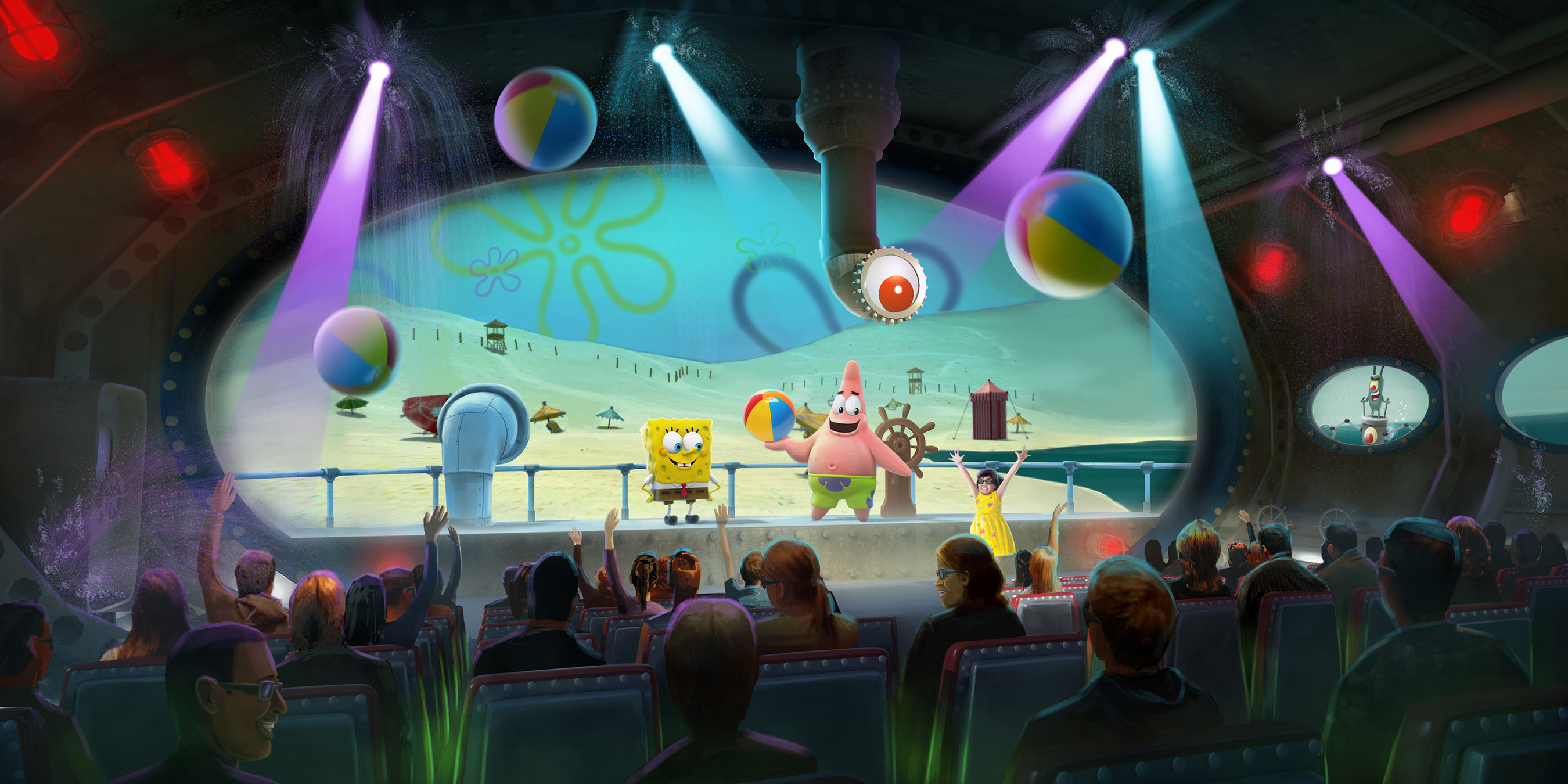 Visitors will be introduced to a new one-of-a-kind immersive and interactive SpongeBob SubPants experience this Memorial Day Weekend at Moody Gardens, Galveston Island