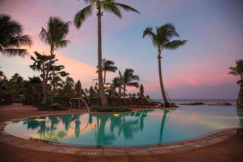 Beginning October 19, 2013, guests at Aulani, a Disney Resort and Spa, in Ko Olina, Hawaii can swim in a ...