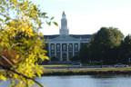 Harvard Business School's Baker Library.