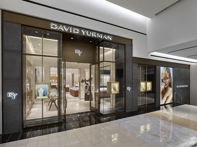 David Yurman Boutique Exterior at King of Prussia Mall in King of Prussia, PA (Courtesy of Jeffrey Totaro)