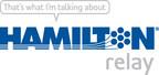 Hamilton Relay logo.