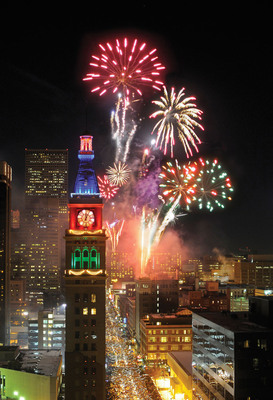 Denver named one of the top New Year's Eve Cities in the U.S.  (PRNewsFoto/VISIT DENVER, The Convention & Visitors Bureau)