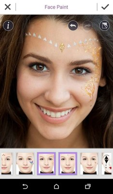 """Perfect Corp. recently announced the launch of festive face paint looks in the YouCam Makeup app. This feature is perfect for those who will be attending music festivals and want to preview outlandish looks before committing to """"the one."""""""