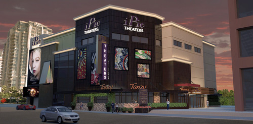 iPic Westwood, CA Rendering.  (PRNewsFoto/iPic Entertainment)