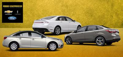 Certified pre-owned used cars in Cincinnati, Ohio.  (PRNewsFoto/Mike Castrucci Auto Group)