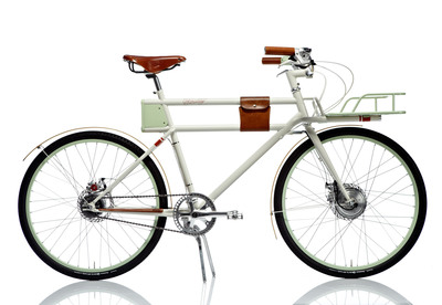 Faraday Bicycles is pleased to debut the highly anticipated production version of the Faraday Porteur at the E Ink booth during CES 2014. (PRNewsFoto/Faraday Bicycles) (PRNewsFoto/FARADAY BICYCLES)