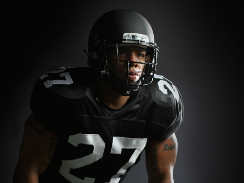 Baltimore Ravens RB Ray Rice Announces Partnership With Xenith Football Helmets - Super Bowl XLVII Participant Touts X2 Helmet's Fit, Comfort and Protection. (PRNewsFoto/Xenith LLC) (PRNewsFoto/XENITH LLC)