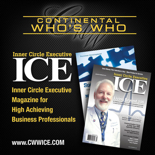 Continental Who's Who: Inner Circle Executive Magazine for High Achieving Business Professionals