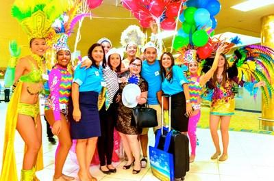 The One Happy Island of Aruba Welcomes One Millionth Happy Visitor aruba.com
