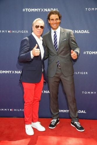 Tommy Hilfiger, Rafael Nadal (PRNewsFoto/Tommy Hilfiger) (PRNewsFoto/Tommy Hilfiger)
