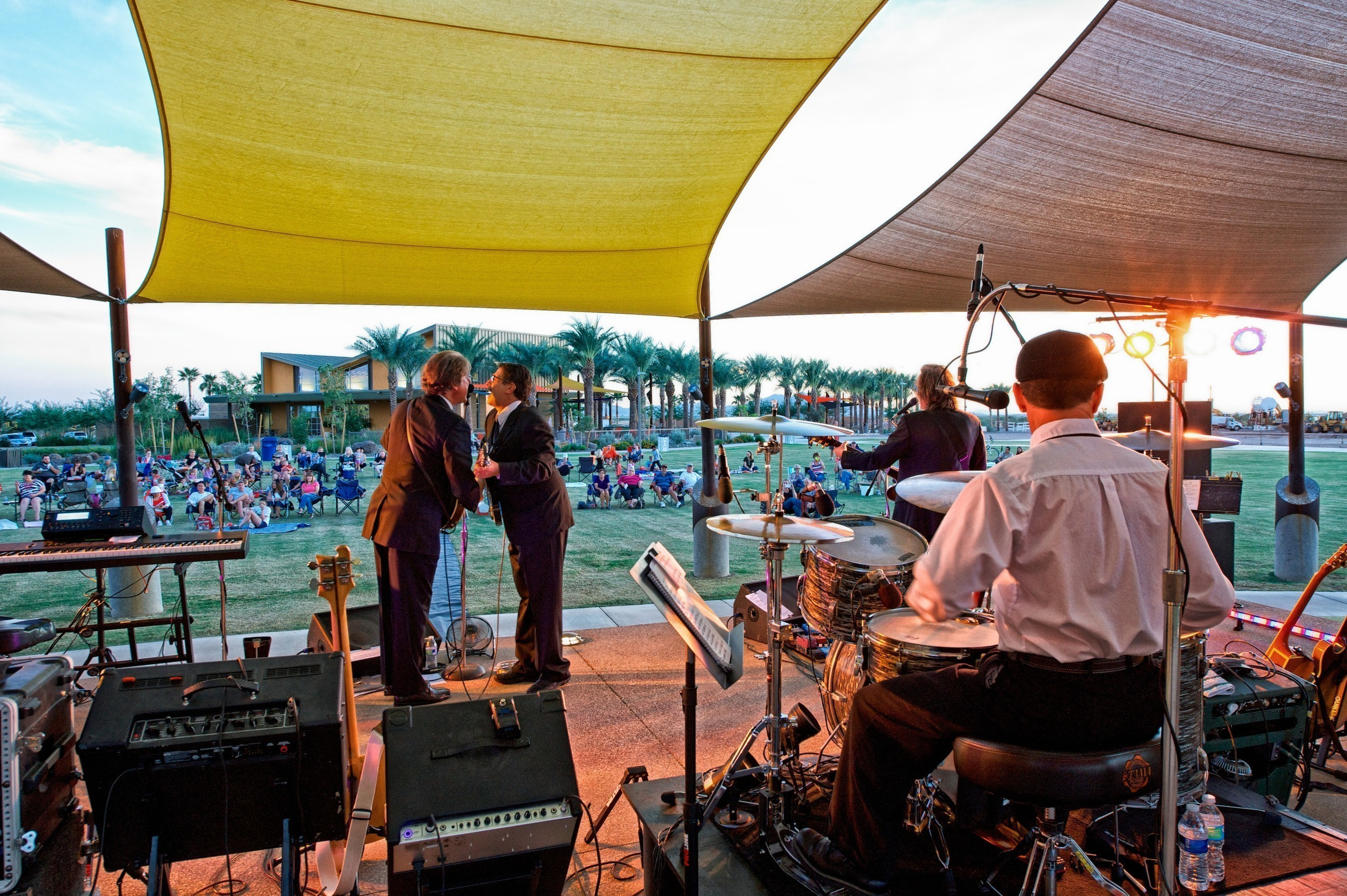 Eastmark's outdoor concert series is one of the more than 100 events and programs residents and surrounding Southeast Valley communities enjoy every year at Eastmark in Mesa, Ariz., ranked the 7th and 8th top-selling master-planned community in the nation for 2015.