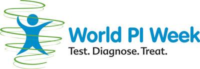 World PI Week Logo (PRNewsFoto/Jeffrey Modell Foundation )