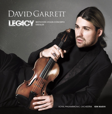 David Garrett Comes Full Circle with Legacy