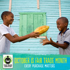 October is Fair Trade Month!