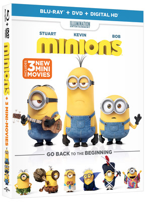 From Universal Pictures Home Entertainment: Minions