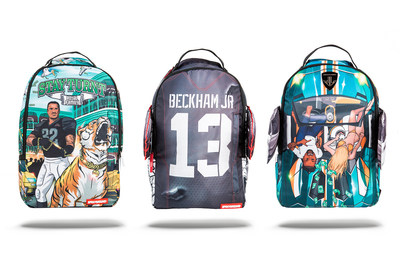 "In collaboration with Odell Beckham Jr., Jarvis Landry and Jeremy Hill, Sprayground releases ""Royal Family"" collection of backpacks."