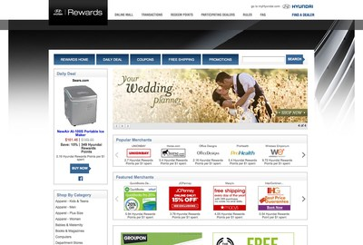 Hyundai Rewards Online Mall