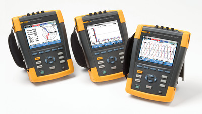 The Fluke 437 Series II 400 Hz Power Quality and Energy Analyzer is designed specifically for technicians in avionics and defense, like submarine, aircraft, military ship, and other transport applications, where 400 Hz measurements are mission critical.  (PRNewsFoto/Fluke Corporation)