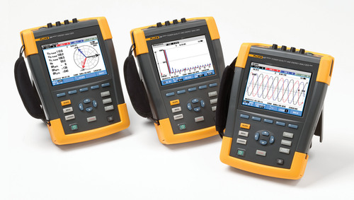 The new Fluke 437 Series II Power Quality and Energy Analyzer captures 400 Hz measurements in