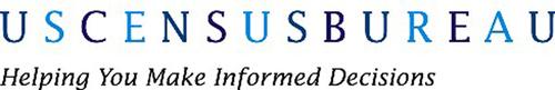 U.S. Census Bureau logo. (PRNewsFoto/U.S. Census Bureau)