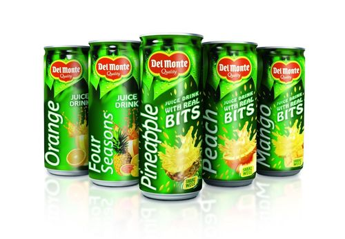 Del Monte® Juice Drinks with Bits are refreshing fruit coolers anytime of the day available in Mango, Orange, Peach, and Pineapple flavours. (PRNewsFoto/Del Monte Foods)