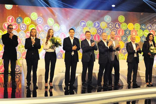 """Presentation of the new Shopping Points at the special program on Lyoness.TV. Photo credit: Lyoness. Editorial use of this picture is free of charge. Please quote the source: """"obs/Lyoness Europe AG """" (PRNewsFoto/Lyoness Europe AG)"""