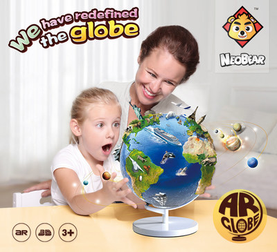 Neobear's AR Globe will be launched internationally