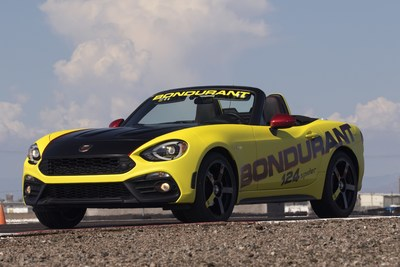 FIAT brand's Abarth models join lineup at legendary Bob Bondurant School of High Performance Driving.
