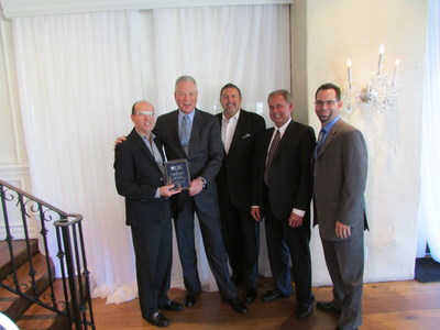 Left to Right: Eric Bosssuk, B&B Premier; Arne Chatterton, President & CEO, Capital Insurance Group; Steve Brooks, B&B Premier; Bruce Ostrem, Regional Field Executive - Southern California, Capital Insurance Group; Gary Guenther, B&B Premier