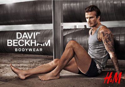 H&m Launches David Beckham