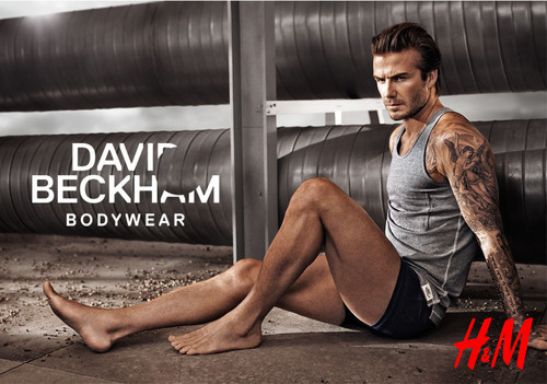 H&M Launches David Beckham Bodywear Spring Collection with ad debuting at Super Bowl XLVIII. (PRNewsFoto/H&M) ...