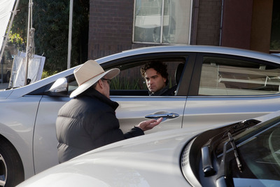 "Johnny Galecki, one of the stars of the CBS hit show ""The Big Bang Theory,"" will headline a 30-second, game-day Hyundai spot during Super Bowl XLVIII on February 2, 2014. The spot is titled ""Nice"" and features the 2014 Hyundai Elantra.  (PRNewsFoto/Hyundai Motor America)"