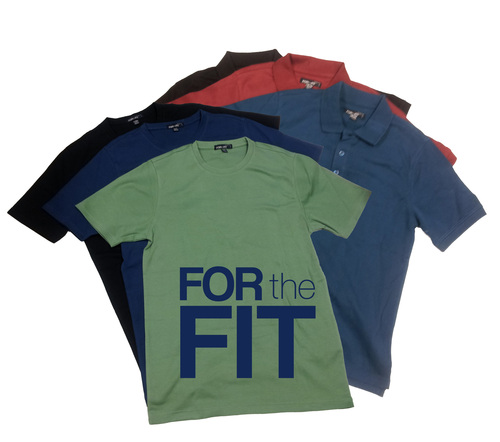 Polos & Tees proportioned to fit EVERYbody- tall & short men's sizes, Slim to Big. (PRNewsFoto/ForTheFit.com) (PRNewsFoto/FORTHEFIT.COM)