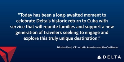 Delta to Serve Havana, Cuba, from New York-JFK, Atlanta and Miami