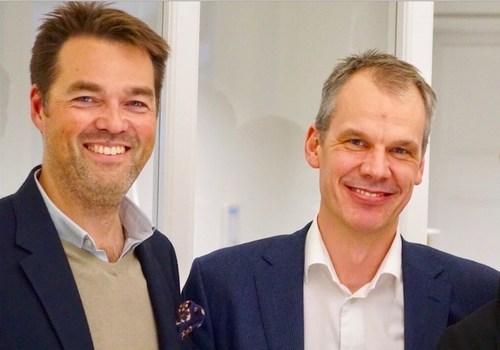 Tom Nickels, Managing Partner at Avaus and Actionbase CEO Mårten Tilosius - Nordic Champions of data-driven marketing (PRNewsFoto/Avaus)