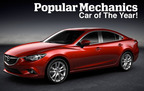 The 2014 Mazda6 earned the title of Popular Mechanics Car of the Year while the Mazda3 recently received several accolades of its own.  (PRNewsFoto/Bill Jacobs Automotive Group)