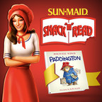 """Paddington"" is the final of three free books offered in Sun-Maid's Snack 'n' Read series in partnership with HarperCollins Publishers. People can enter to win every day. 200 winners are randomly chosen daily and 10 winners will receive a sweepstakes prize package of HarperCollins Story Time Library sets. Details at www.sunmaidoffer.com"