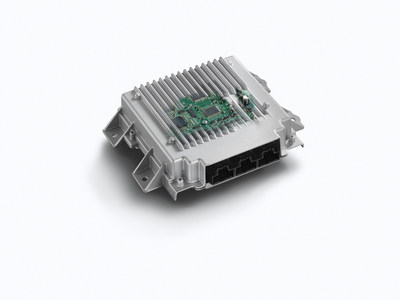 ZF TRW's Safety Domain Electronic Control Unit acts as a central integration hub - processing millions of bytes of data from environmental sensors of the vehicle's state and surroundings. By interfacing with the steering, braking and drivetrain systems, a multitude of functions can be enabled while reducing the number of control units and simplifying the vehicle's electronic architecture. It is also a  key enabler for automated driving functions.