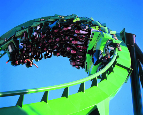 Six Flags Great Adventure Announces Extreme Thrill Coaster Slated for 2011.  (PRNewsFoto/Six Flags Great ...