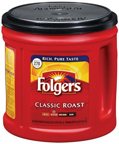 The J. M. Smucker Company - Folgers Coffee.  (PRNewsFoto/The J. M. Smucker Company)