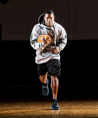 Pierre Garcon, Russell Athletic(R) brand ambassador Washington wide receiver.  (PRNewsFoto/Russell Athletic)
