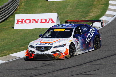 Ryan Eversley led a 1-2 sweep for Acura Saturday at Road America.