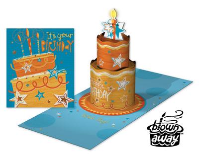 American Greetings Makes Birthdays Extraordinary with Blown Away(TM). (PRNewsFoto/American Greetings Corporation) (PRNewsFoto/AMERICAN GREETINGS CORPORATION)