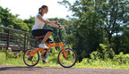 AVE residents can now enjoy folding, hybrid Citizen Bikes for fitness or leisure!  (PRNewsFoto/AVE)