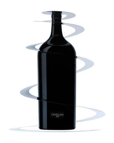 9L Salamanzar of Ornellaia 2010 by Michelangelo Pistoletto sets auction sale record of $122,400.  (PRNewsFoto/Ornellaia)