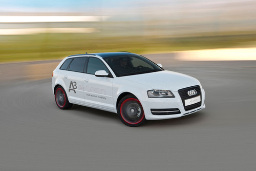 Audi A3 e-tron pilot program kicks off in U.S.  (PRNewsFoto/Audi of America, Inc.)