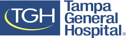 Tampa General Hospital logo.
