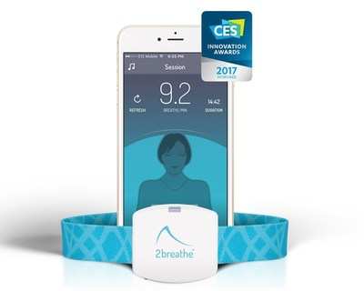 2breathe Sleep Inducer wins 2017 CES Innovation Award